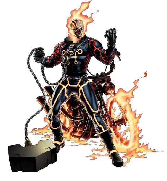 Marvelghostrider01 Png Ghost Rider Marvel Ghost Rider Avengers Alliance