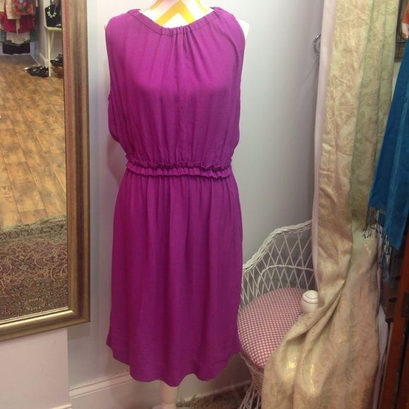 SUPER SALE!! Kate Spade classy purple summer dress Absolute stunner! Orange tie around back. Excellent condition - just dry cleaned! kate spade Dresses