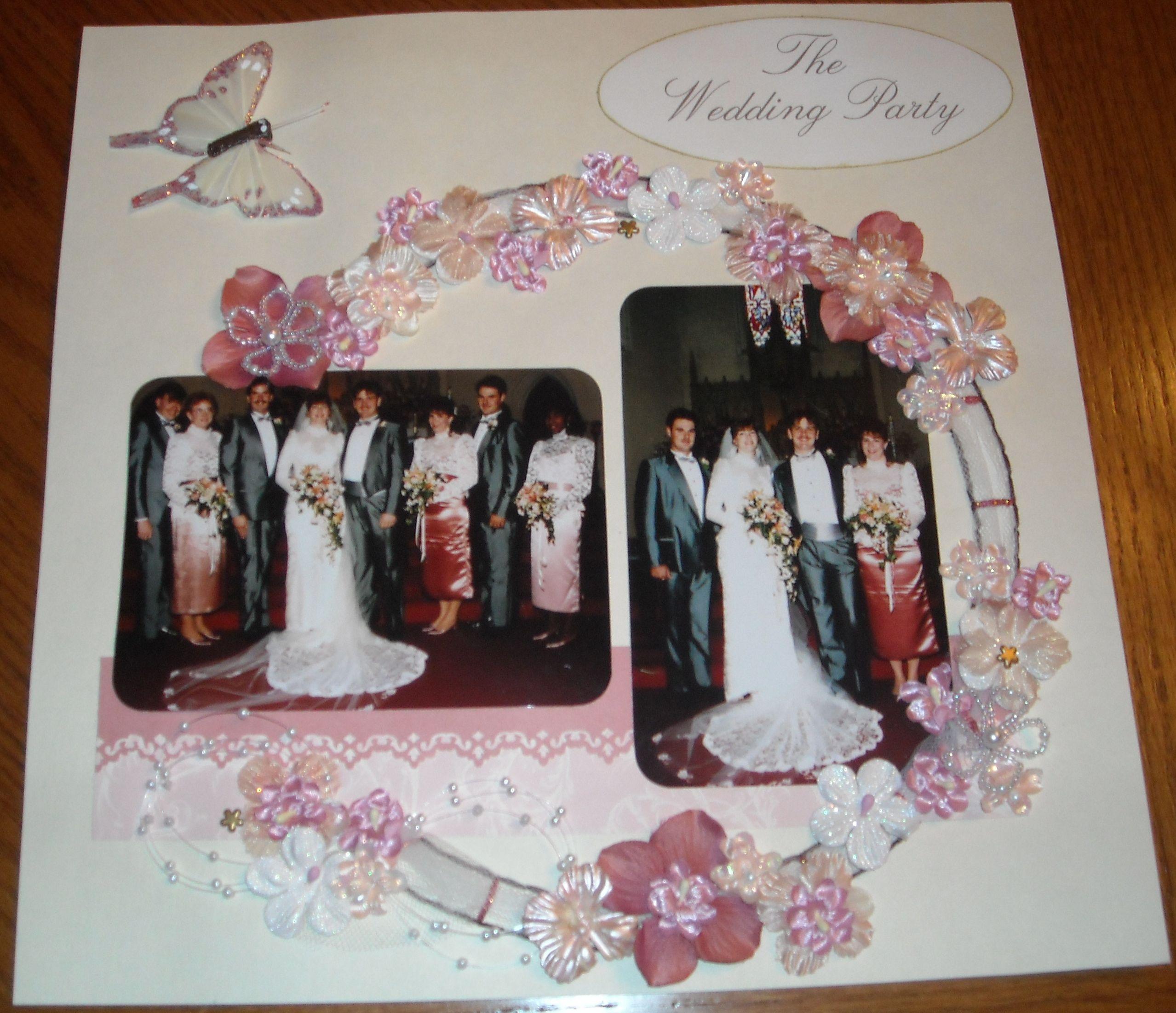Wedding Party - Scrapbook.com