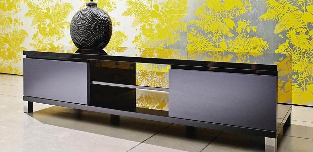 A great TV Cabinet for everyday use, in a black gloss which work ...