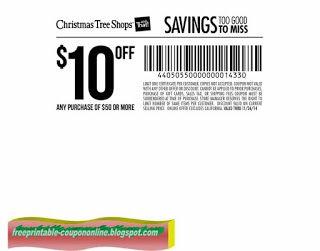 Free Printable Christmas Tree Shops Coupons Christmas Tree Shop Coupons Free Christmas Printables