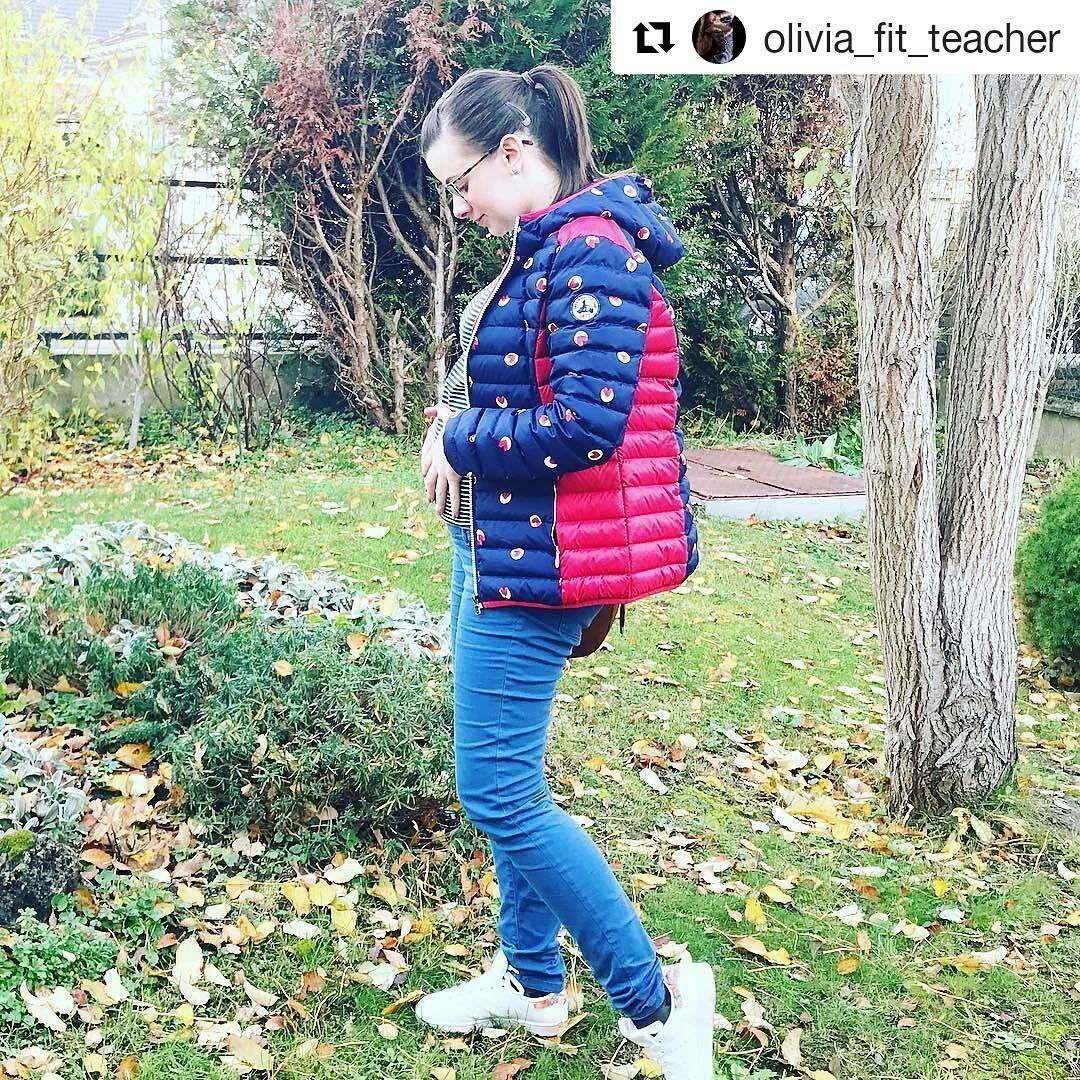 Retrouvez @olivia_fit_teacher avec ma doudoune