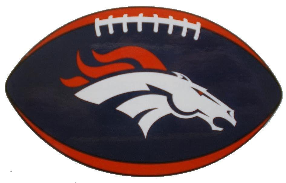 Bronco Football Logos Denver Broncos Decal Sticker