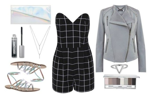 """""""Untitled #17"""" by valenciaspain ❤ liked on Polyvore featuring Boohoo, Mint Velvet, J.Crew, ASOS, Bare Escentuals, Clinique, ChloBo and BCBGeneration"""