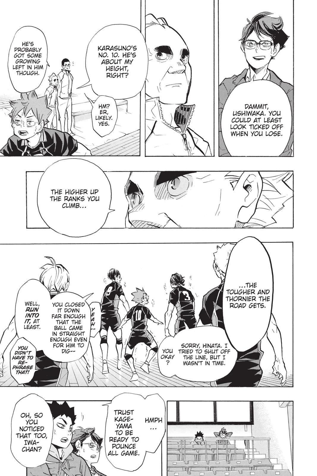 Haikyuu chapter 189 read haikyuu manga online