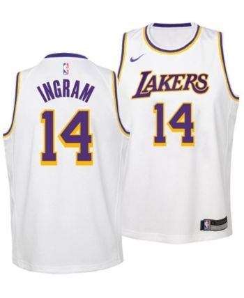1e517e0ff2d Nike Brandon Ingram Los Angeles Lakers Association Swingman Jersey ...