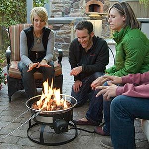 So This Is Available At Costco Propane Powered Fire Pit For Those Who Camp