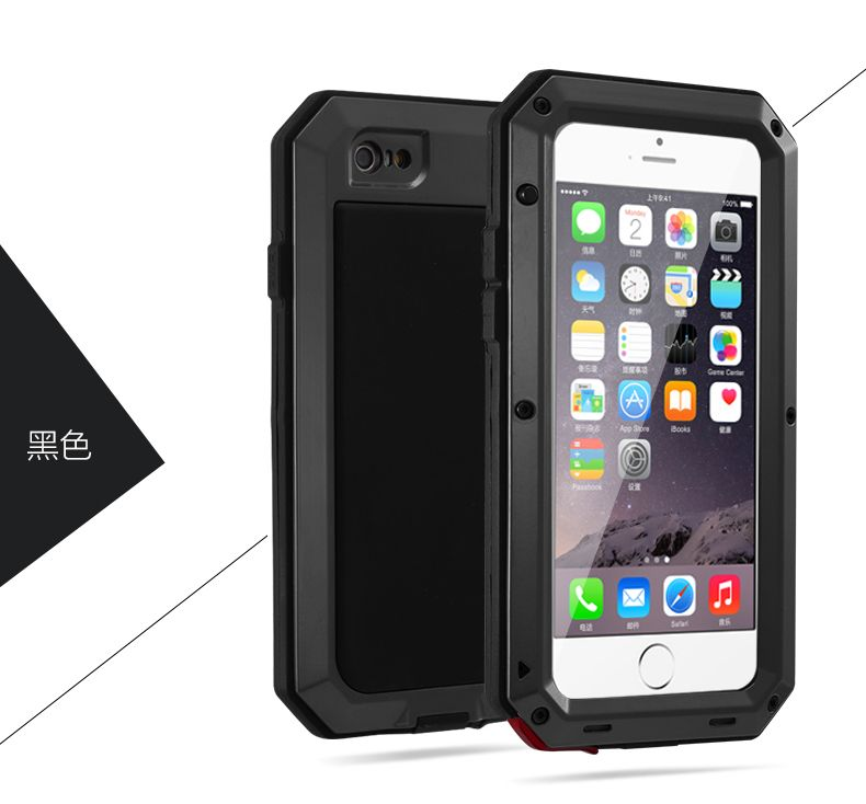 uk availability 12587 c4346 Aluminum Metal Element Waterproof Shockproof Mobile Phone Cover Case ...