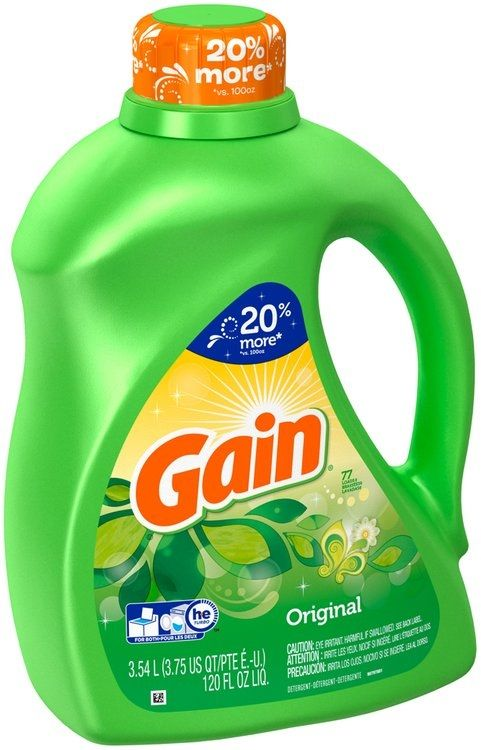 Gain Original Liquid Laundry Detergent With Images Liquid