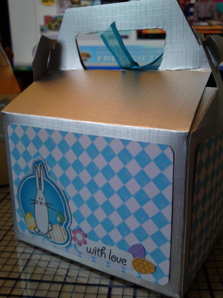 Easter Egg treat box
