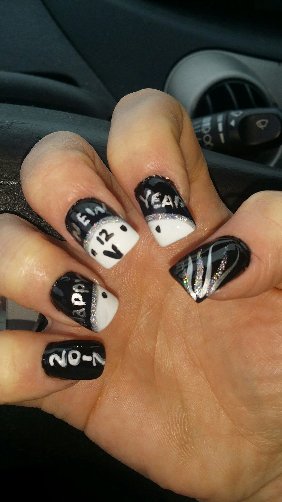 New years nails | Nails | Pinterest