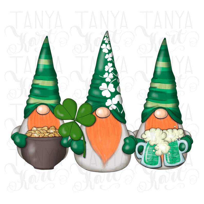 Download Sublimation designs, March Gnomes, Sublimation Png, St ...
