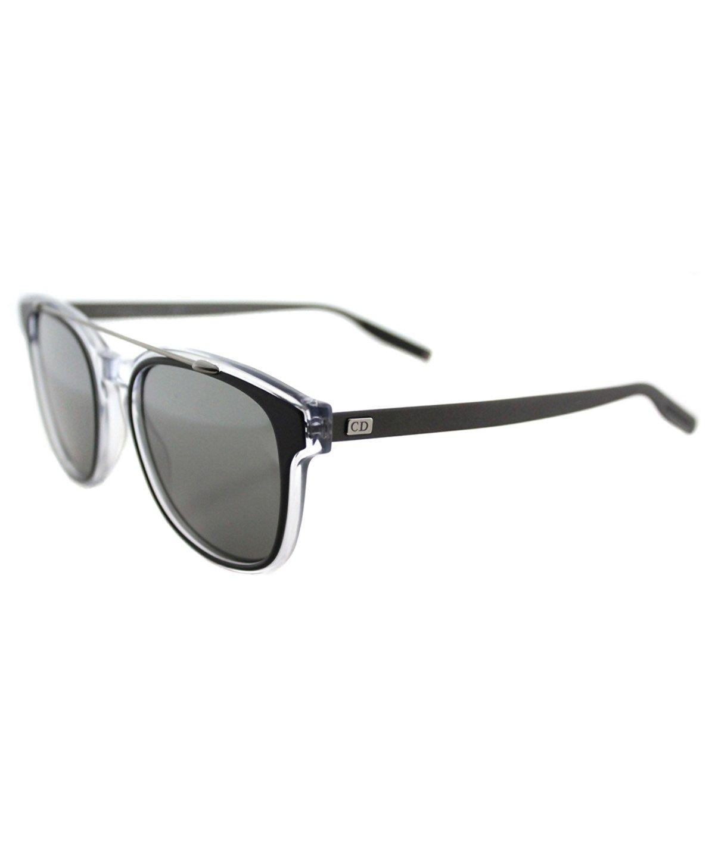 Black Tie Square Plastic Sunglasses , Black Crystal Ruthenium ... 41c1d40c7034