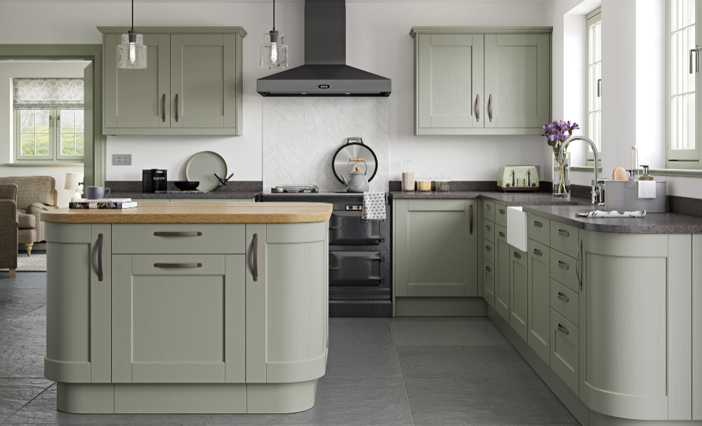 Shaker Style Google Search Sage Green Kitchen Green Kitchen Cabinets Traditional Kitchen Design