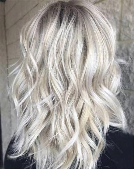 New Hair White Blonde Highlights Long Bobs Ideas #hair #whiteombrehair #platinumblondehighlights New Hair White Blonde Highlights Long Bobs Ideas #hair #whiteombrehair #platinumblondehighlights