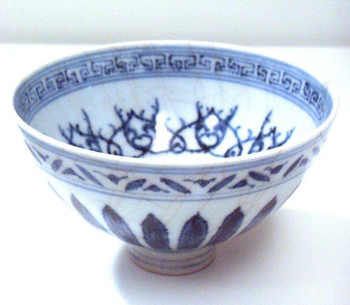 File:Blue and white bowl Jingdezhen Ming Yongle 1403 1424.jpg