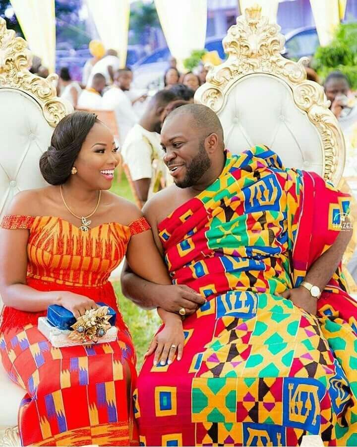 Jannettes traditional marriage #kente inspired | Kente | Pinterest ...