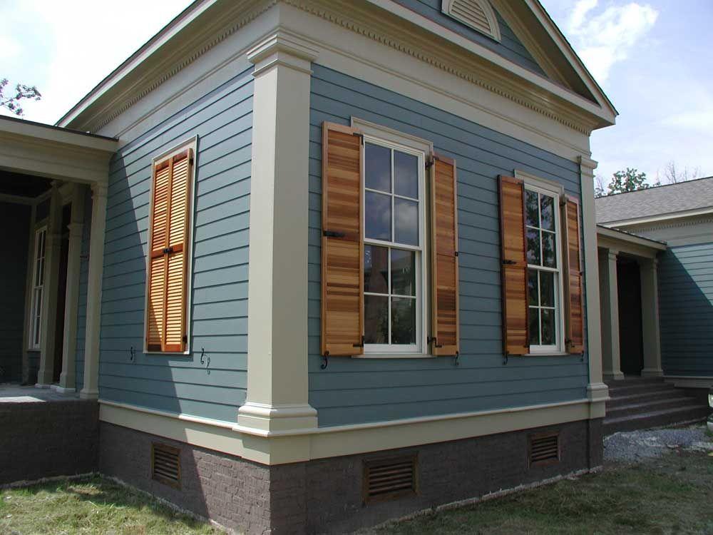 Exterior shutter pictures of shutterland custom wood