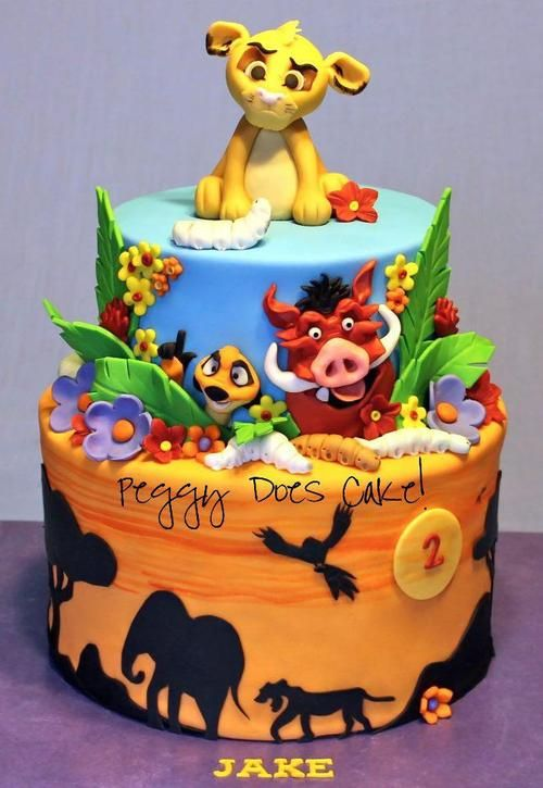 Disney Cake Tumblr Cool Cakes And Baked Goods Cake Lion King