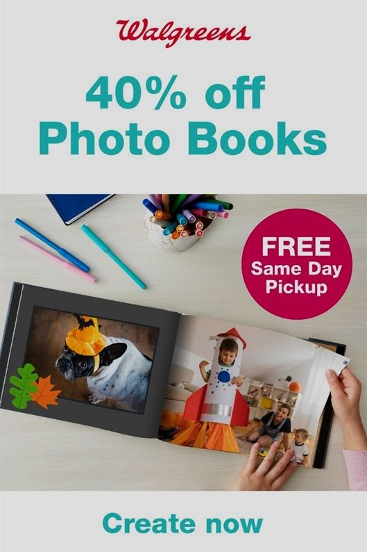 WalgreensGet 40% OFF Photo Books with code PHOTOFORTY thru 11/2… #mosquitoplants