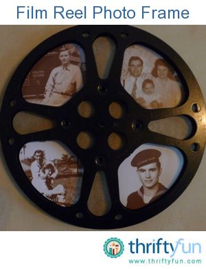 movie reel picture frames
