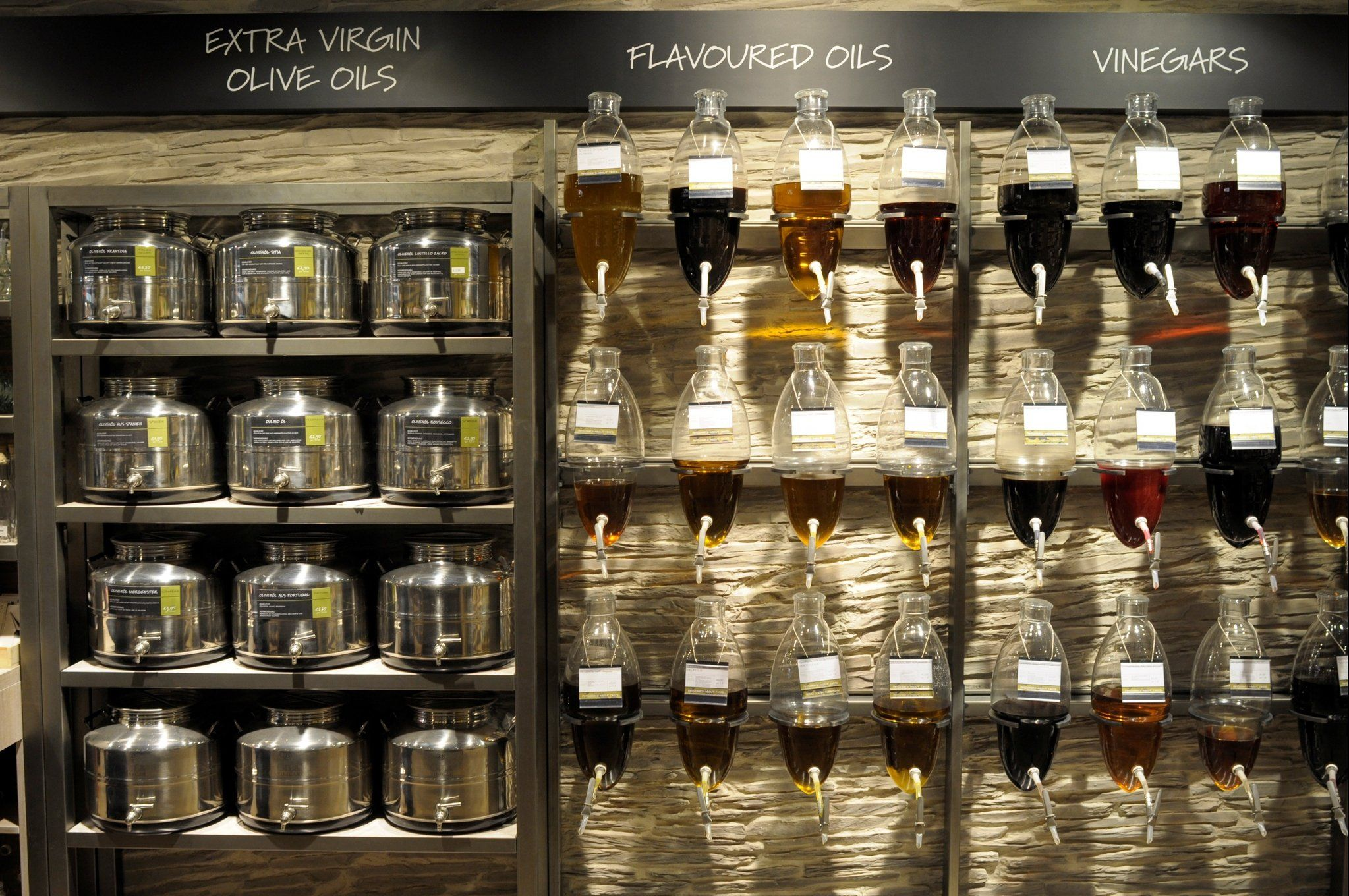 Oil And Vinegar Open And Shut Gourmet Food Store Oil And Vinegar Opens In
