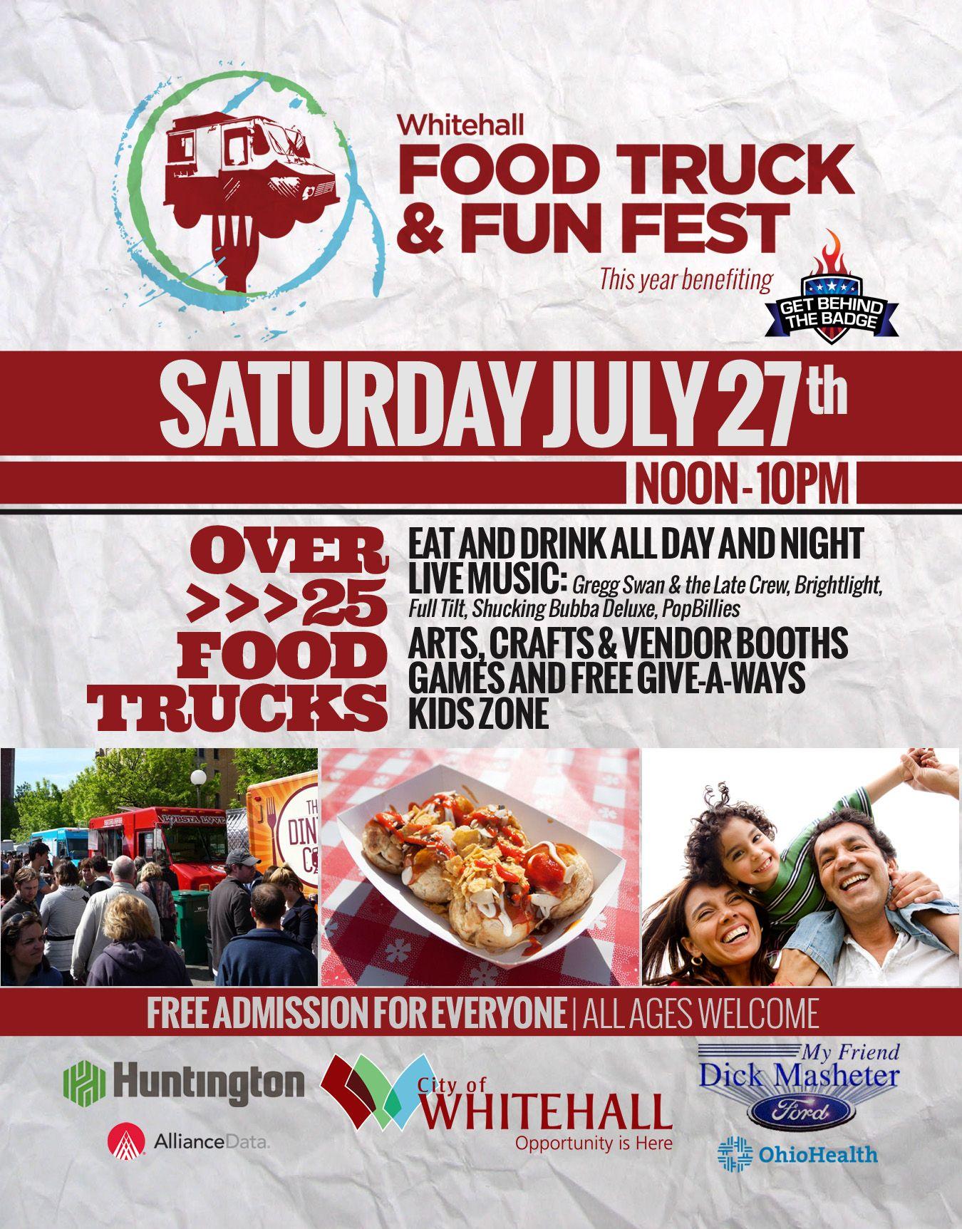 Whitehall Food Truck Festival