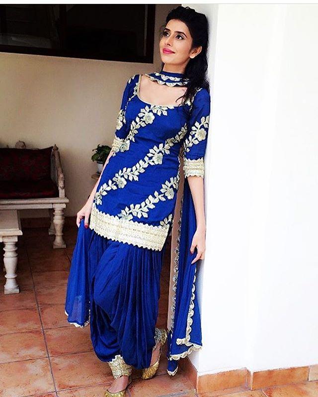 salwar kameez designer, Gauahar khan, best kurti designs@ http ...
