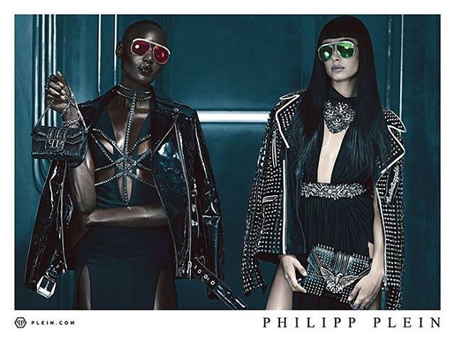 #PhilipPlein SS16 (@philipppleininternational) #Campaign  #Model : @haileybaldwin @luckybsmith @pyperamerica @ajak_deng  #Photographer : @stevenkleinstudio  @philippplein78 #Ads #Magazine #Fashion #Editorial #Designer #InstaFashion #Photoshoot #Zackylicious