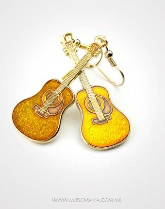 E-guitarras aretes miniblings colgadores guitarras aretes banda música Superstar silb