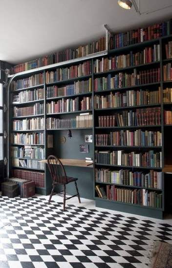 Amazing Home Libraries: 15+ Trendy Home Library Amazing Shelves