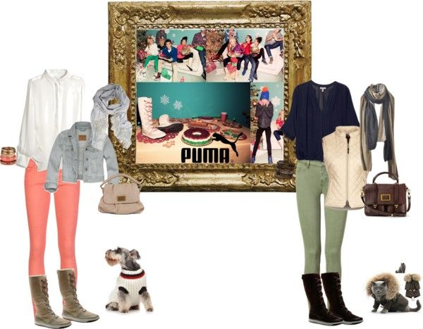 """""""The Art of Gifting with PUMA"""" by yamilyramirez ❤ liked on Polyvore"""
