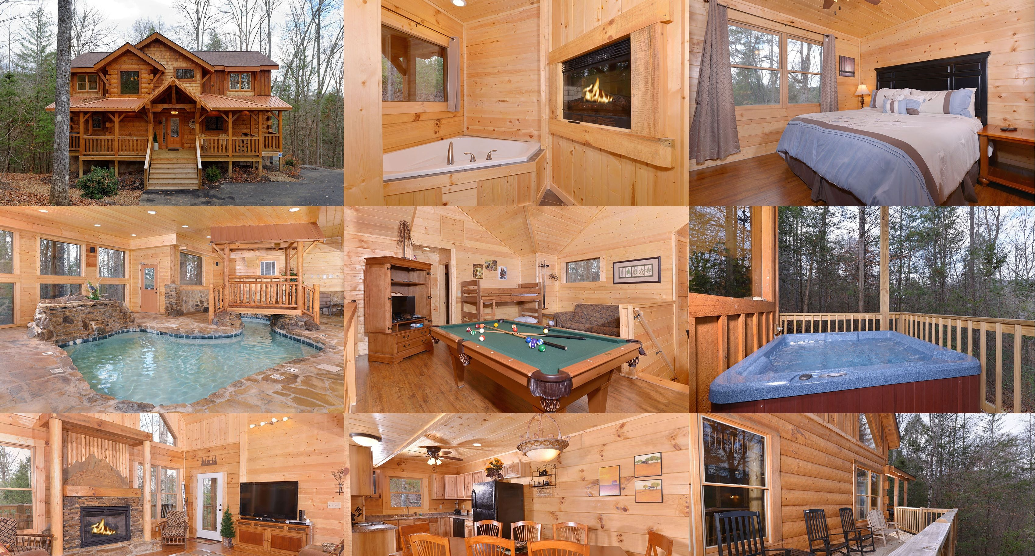 cheapest gatlinburg under rentals indoor cabins vacation and friendly pool cabin dollars tub tn pet rent for rental in affordable with hot