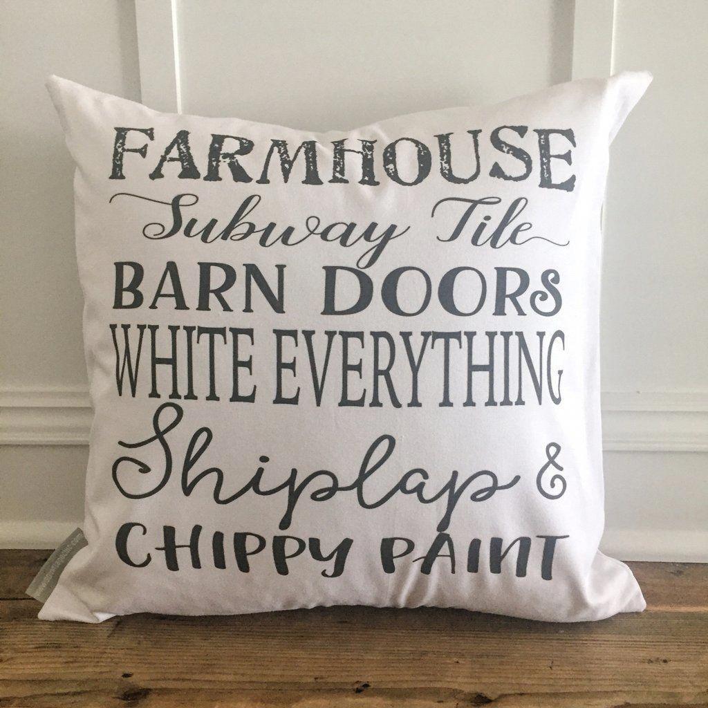 Farmhouse pillow cover farmhousehomedecoration