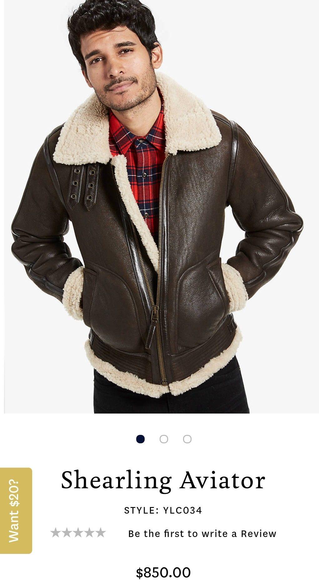 0f57d9b41 Lucky Brand 'Shearling Aviator' | Style | Jackets, Lucky brand ...