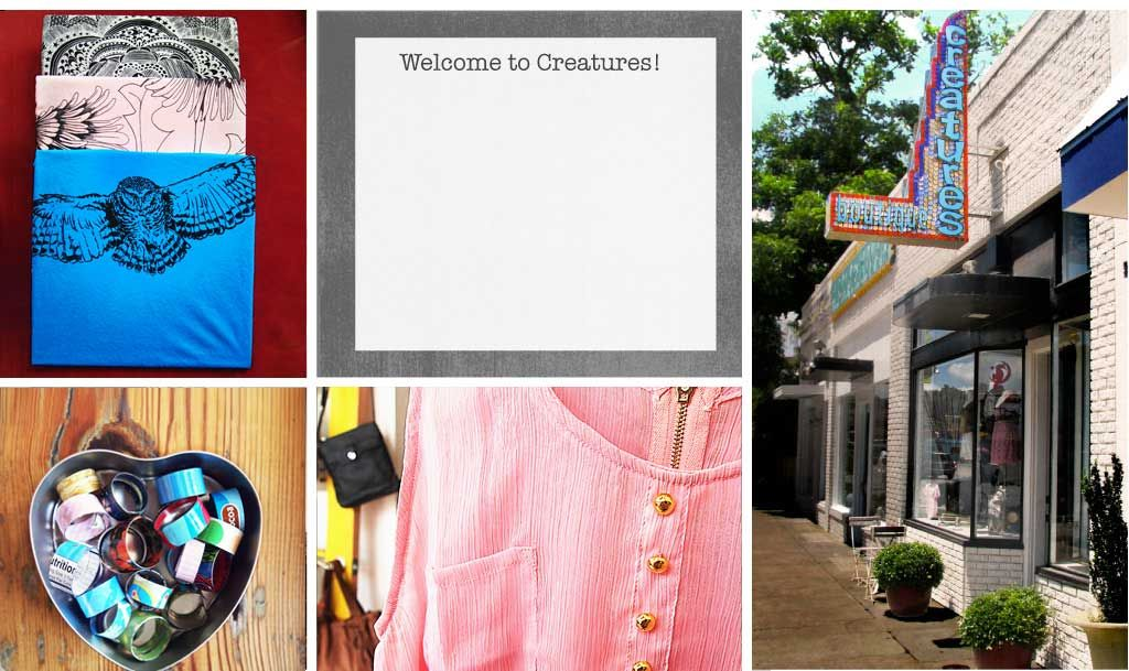 Creatures. Located on SoCo in the middle of everything. Great place to find some cool new shoes or accessories.