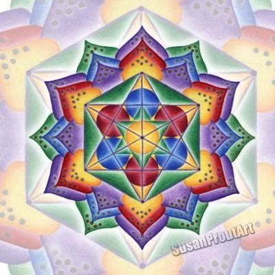 Solfeggio Mandala 666Hz, Pure Light