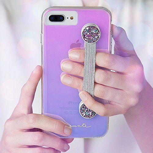 new concept e910f 778f7 Case-Mate Straps Sparkly Phone Grip Phone Strap Pink Glitter ...