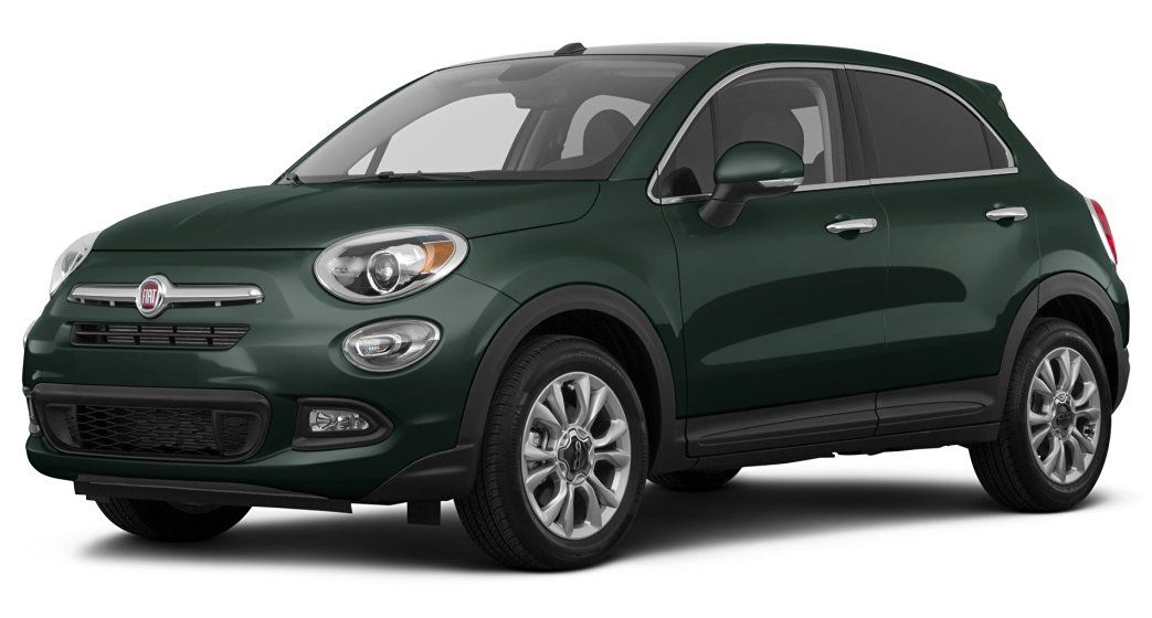 2016 Fiat 500x Lounge All Wheel Drive 4 Door Verde Toscana Green