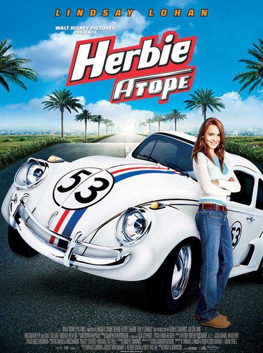 Lindsay Lohan Herbie Atope Herbie Fully Loaded Disney Movies Kids Movies