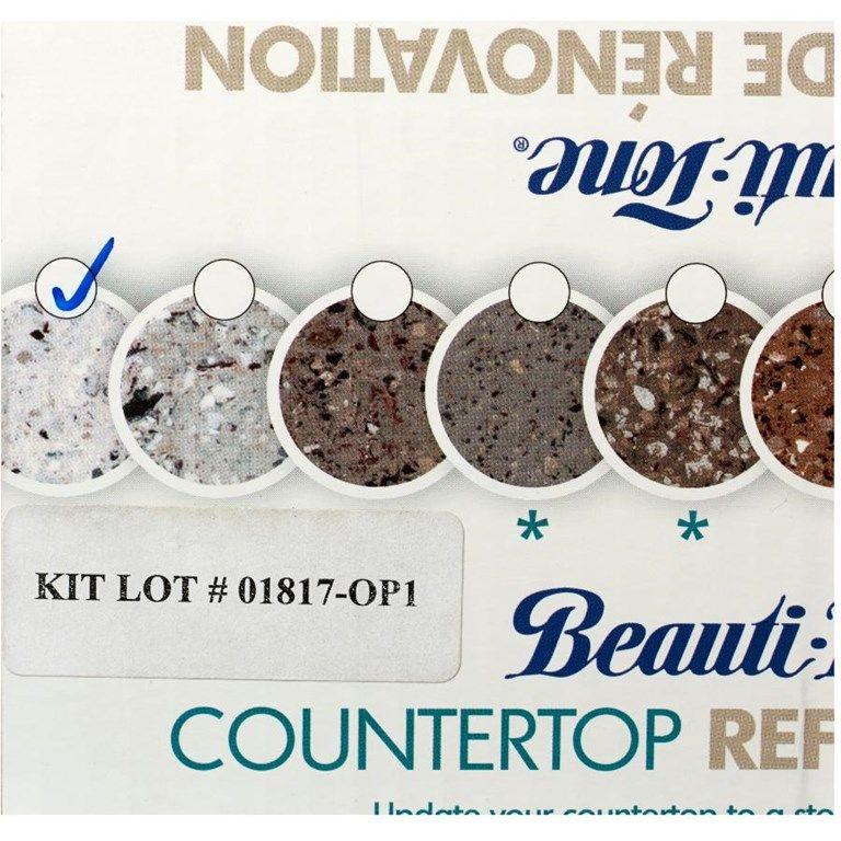 Beautitone sea pearl countertop refinishing kit