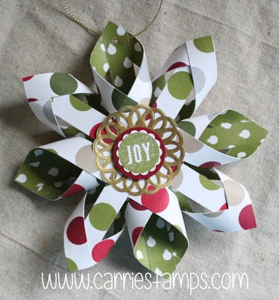 Christmas Paper Crafts To Make At Home Paper Christmas Ornaments Christmas Paper Crafts Paper Christmas Decorations