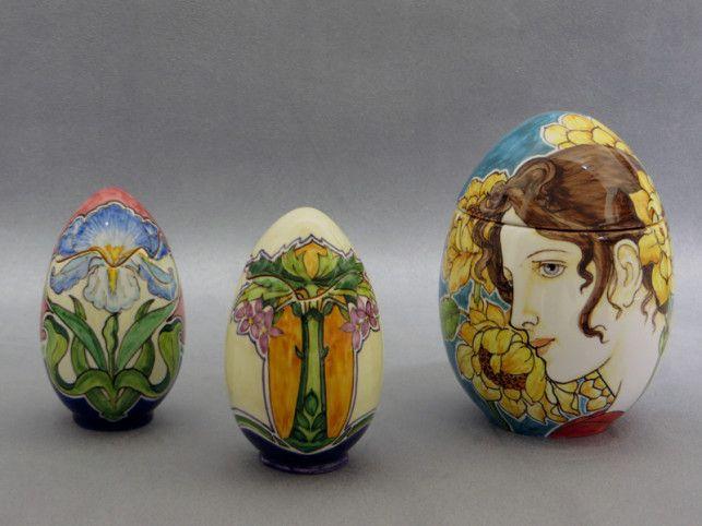 Uova Di Ceramica Dipinte A Mano.Uova In Ceramica Dipinte A Mano Mayolica Ceramica Faenza Deruta