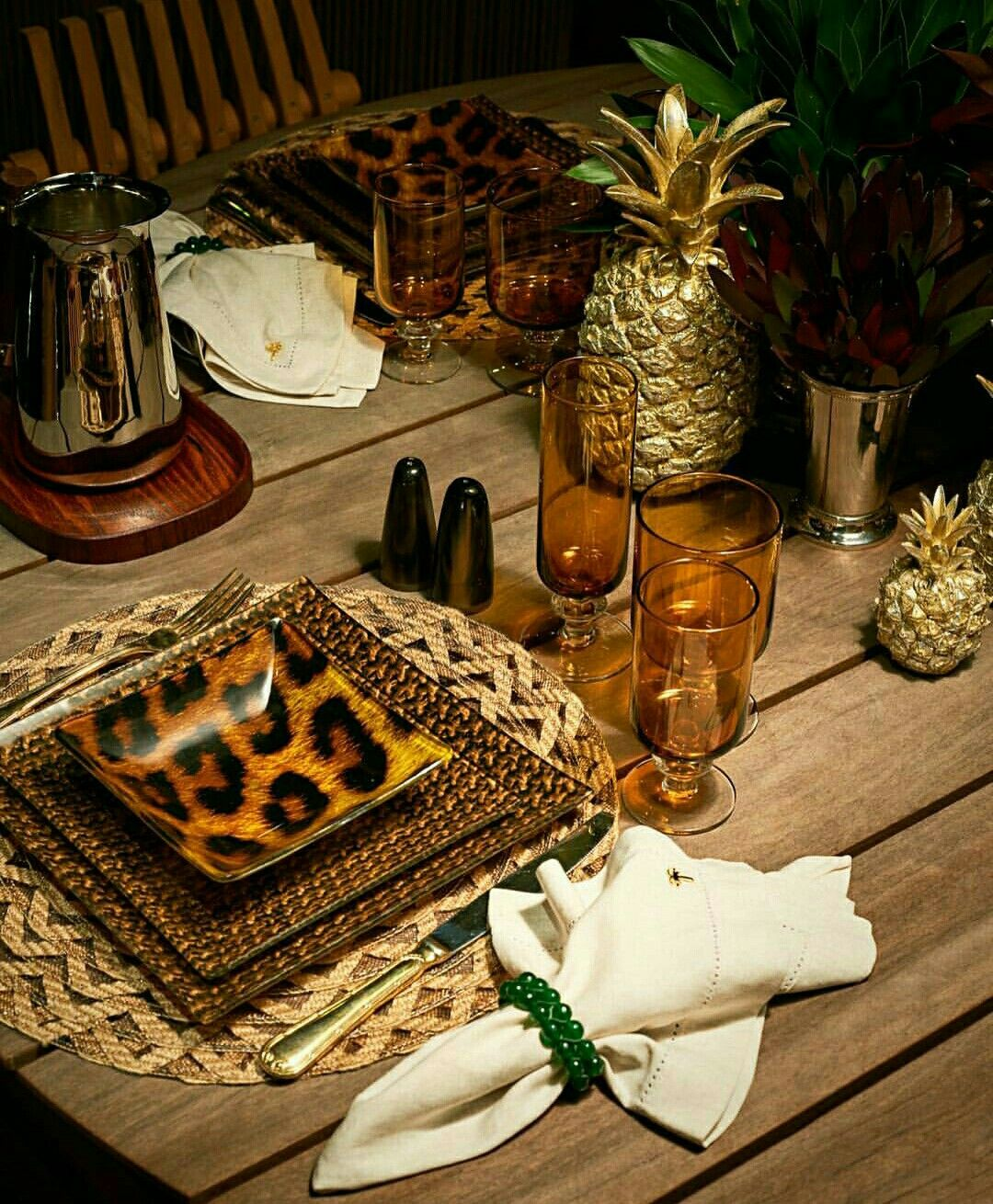 African Decorating The: African Inspired Table Setting