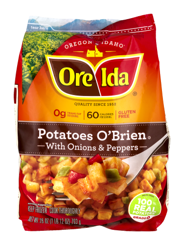 Kroger Brand Potatoes O Brien With Onions Peppers 28 Oz Frozen Frozen Potatoes Potatoes Obrien Stuffed Peppers