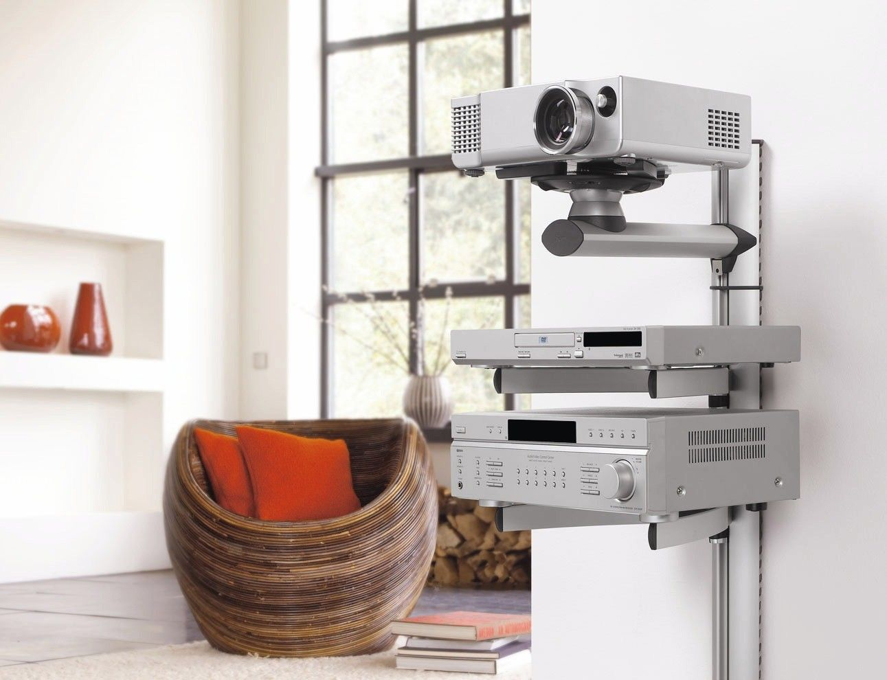 mount your beamer projector on the wall vogelu0027s epw projector mount - Projector Wall Mount