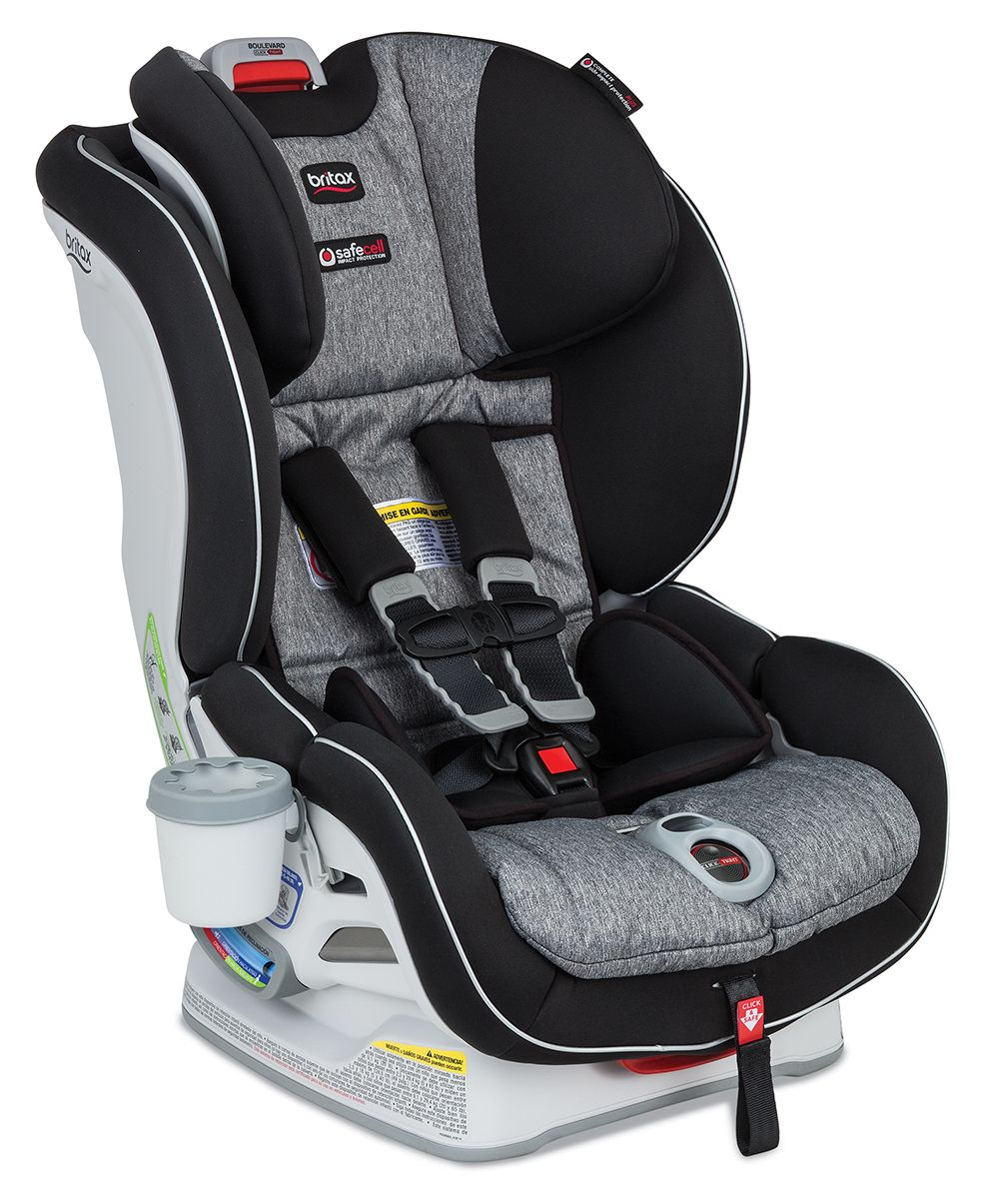 Britax Boulevard ClickTight Convertible Car Seat In Westin Fashion The Installation System Makes As Simple Buckling A