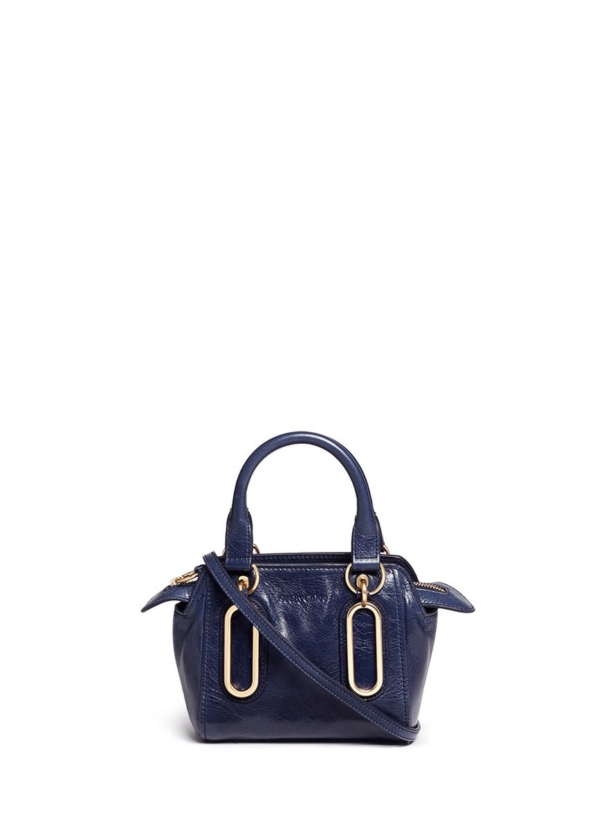 f61b5398 SEE BY CHLOÉ 'Paige' Mini Textured Leather Crossbody Bag ...