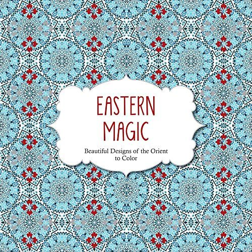 eastern magic beautiful designs of the orient coloring