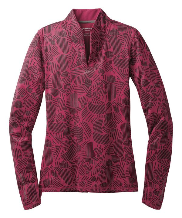 Look at this Brooks Jam Woodblock Utopia Thermal Long-Sleeve Top on #zulily today!
